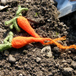 Knitted Carrots